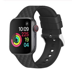 Accessories - ❤️NEW Black Rhomboid Silicone Band For Apple Watch